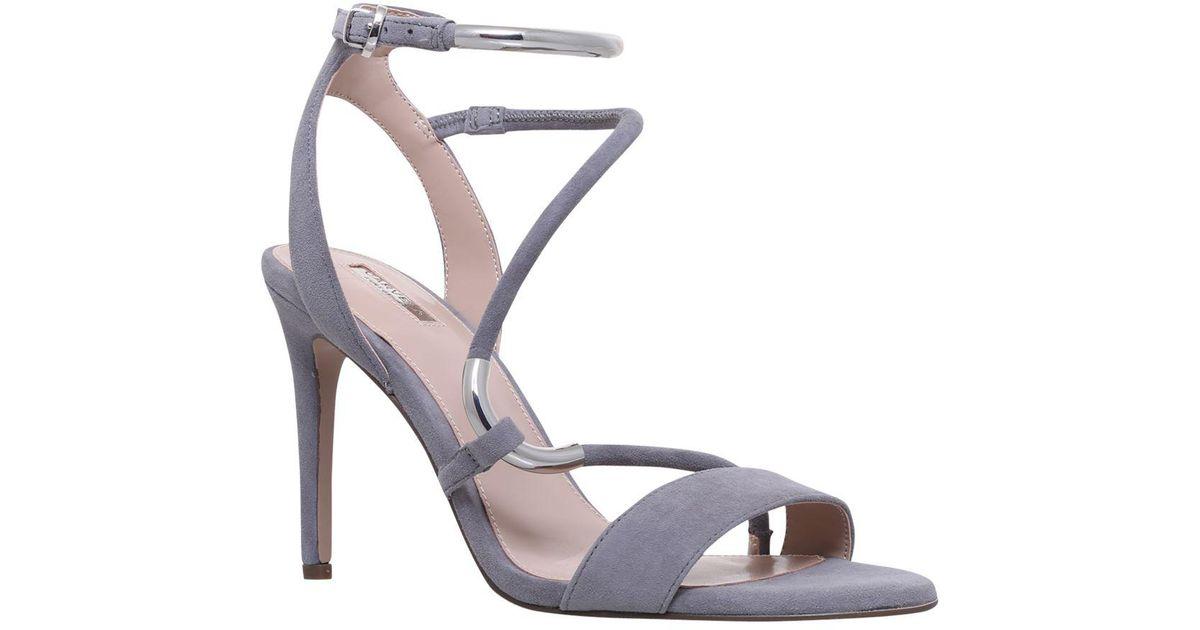 4da00a92637 Carvela Kurt Geiger - Gray Gorge Stiletto Heel Sandals - Lyst