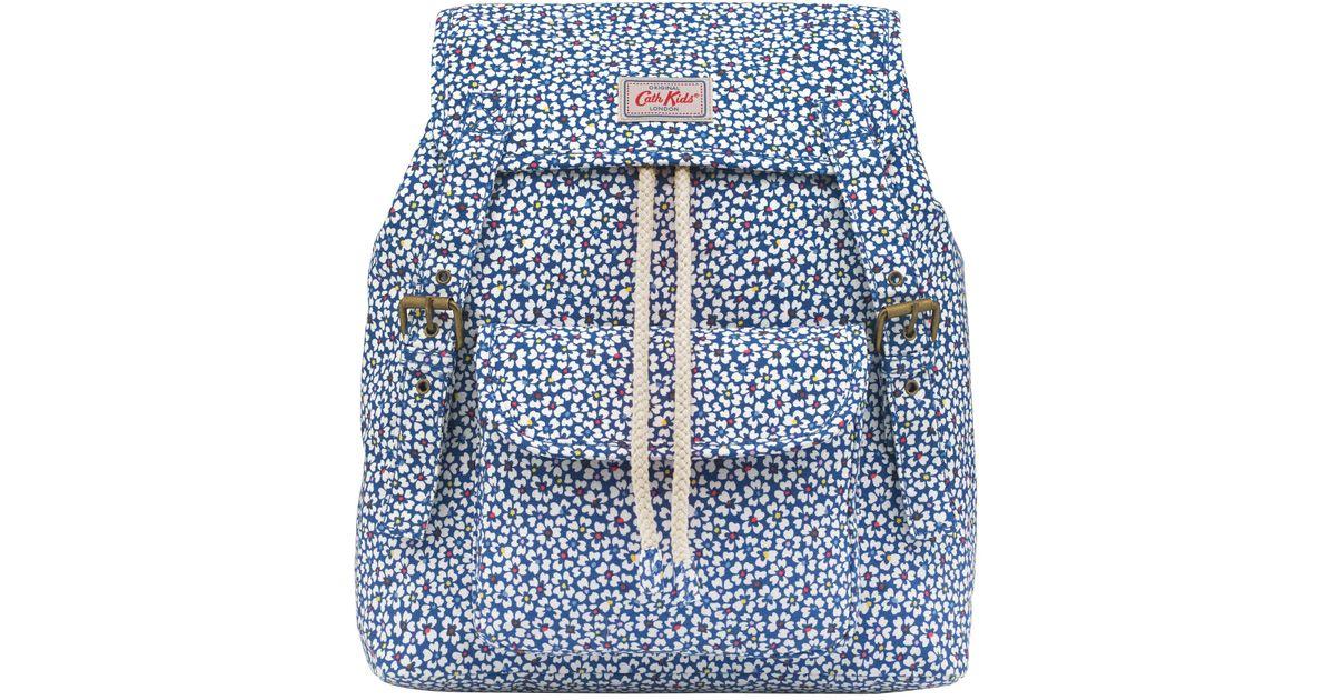 f5ea938667 Cath Kidston Children's Friendship Flowers Junior Backpack in Blue - Lyst