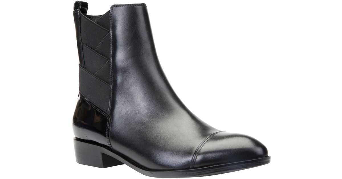 cf2eb58b24 Geox Lover Ankle Boots in Black - Lyst