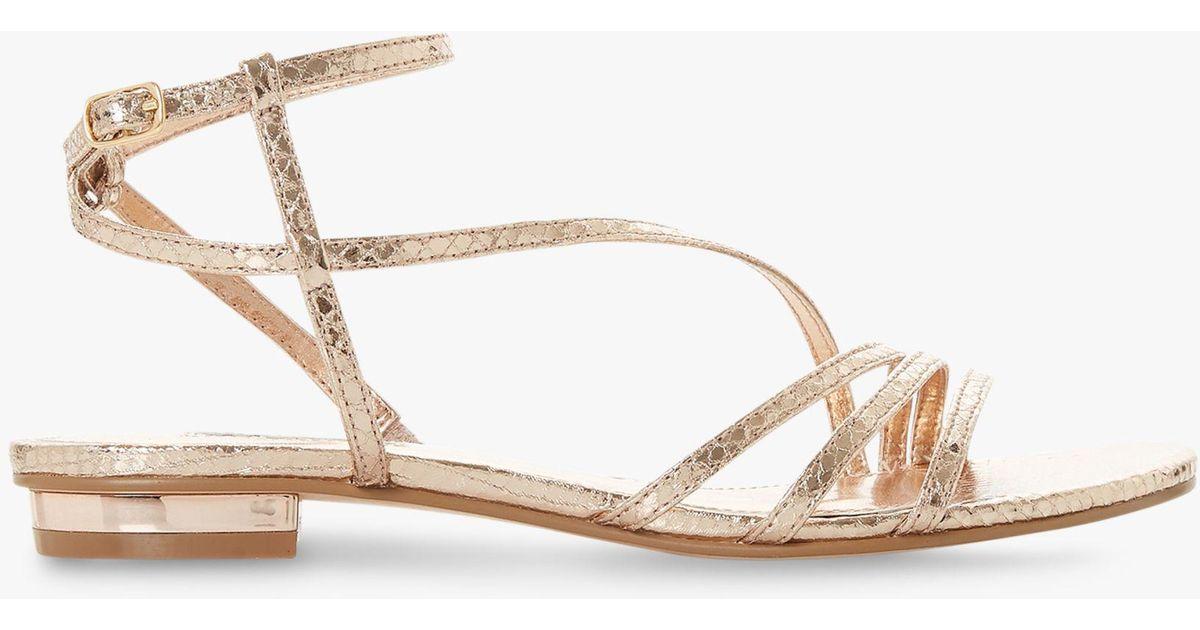 da691b2136d Dune Rose  nissey  Ankle Strap Sandals - Save 8% - Lyst