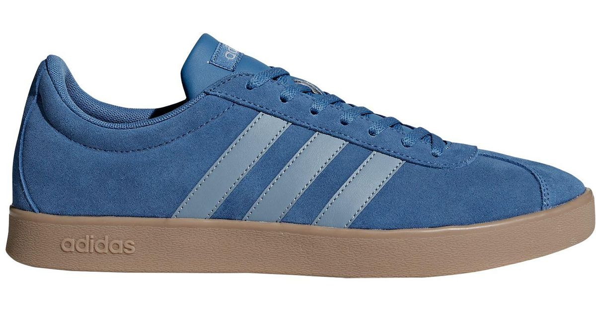 half off c2b74 4cac0 adidas Neo Vl 2.0 Court Suede Men s Trainers in Blue for Men - Lyst