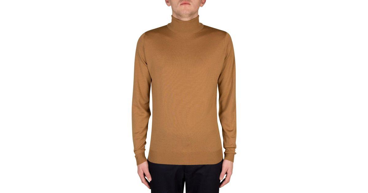 55caa0731f0 John Smedley - Multicolor Cherwell Rollneck Long Sleeve Jumper for Men -  Lyst