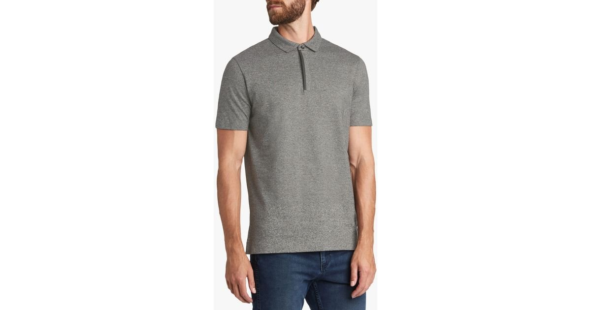bf6f0985 BOSS Hugo By Dollinson Polo Shirt in Gray for Men - Lyst