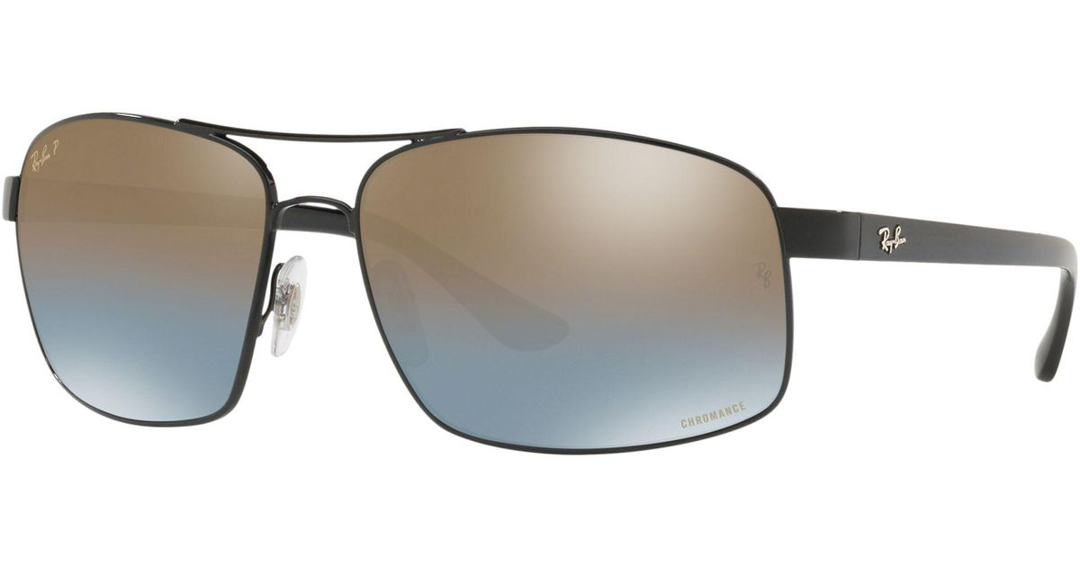 8ea54a1d632e44 ... Ray-Ban Rb3604 Mens Square Sunglasses for Men - Lyst buy 3056b d11dc ...
