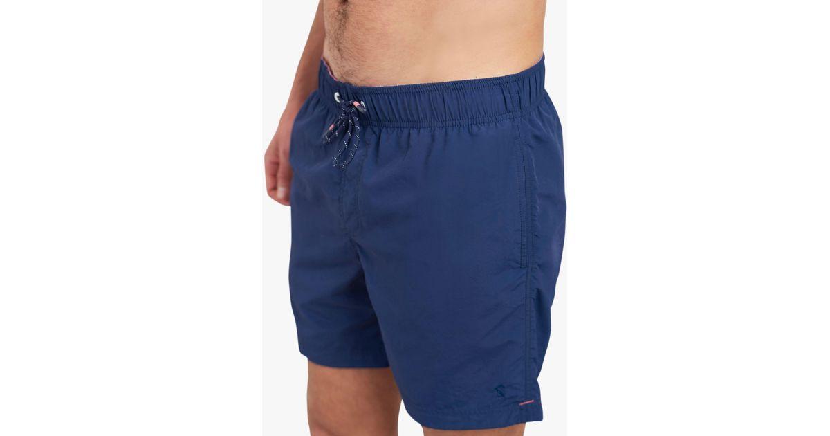 8e437affbe Joules Heston Swim Shorts in Blue for Men - Lyst