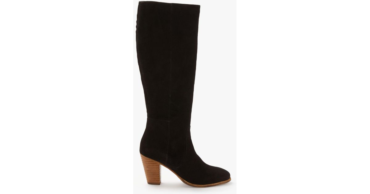 fc1343294f9 Boden Temple Knee High Boots in Black - Lyst