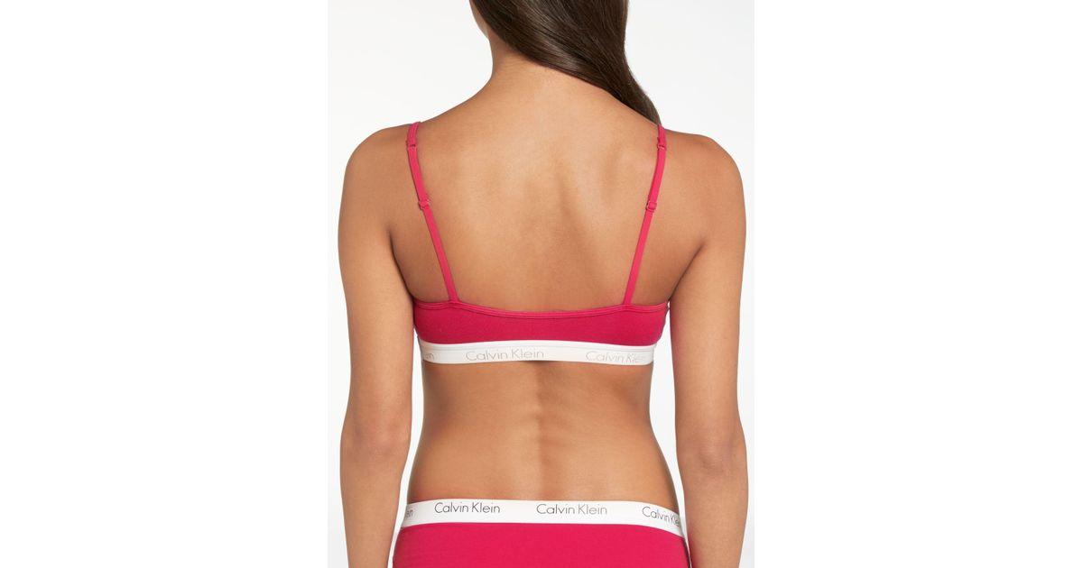 098f5b983a John Lewis Calvin Klein Underwear Ck One Cotton Bralette - Lyst