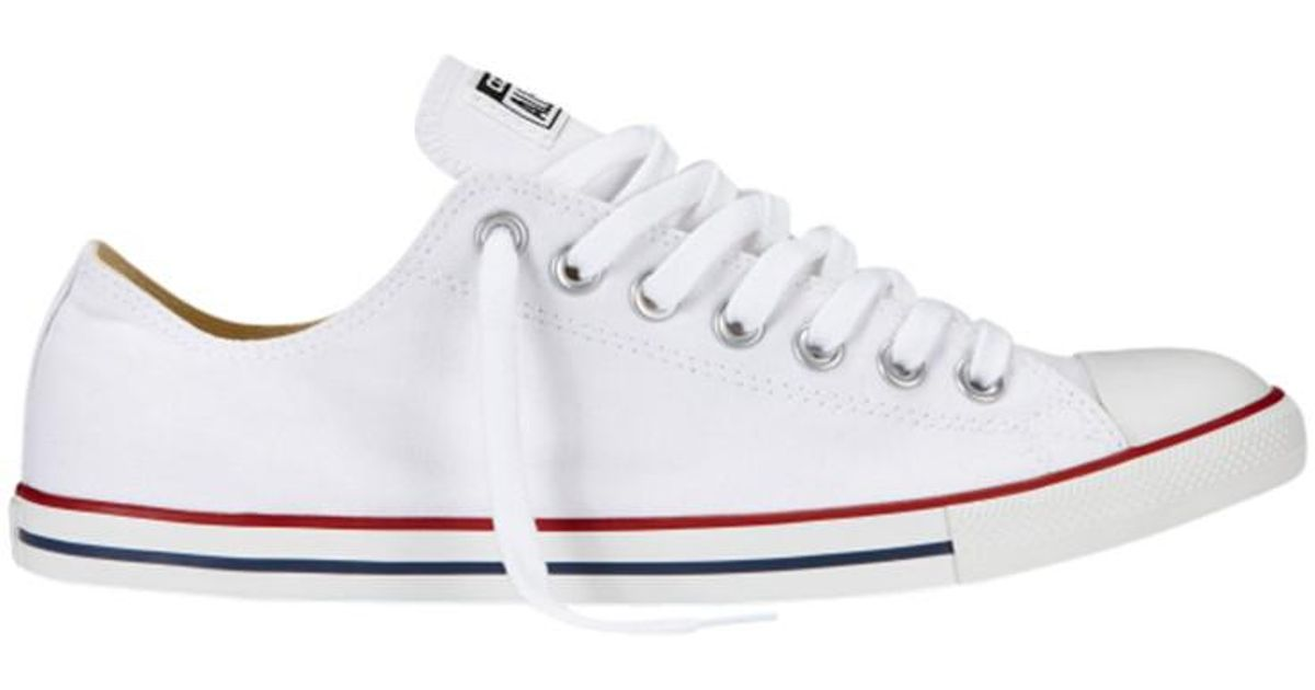Converse Lean All Star Ox Trainers in White for Men - Lyst 867f92cec