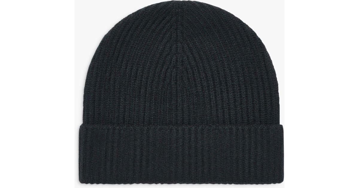 ab3c160850280 Brora Rib Knit Cashmere Hat - Lyst