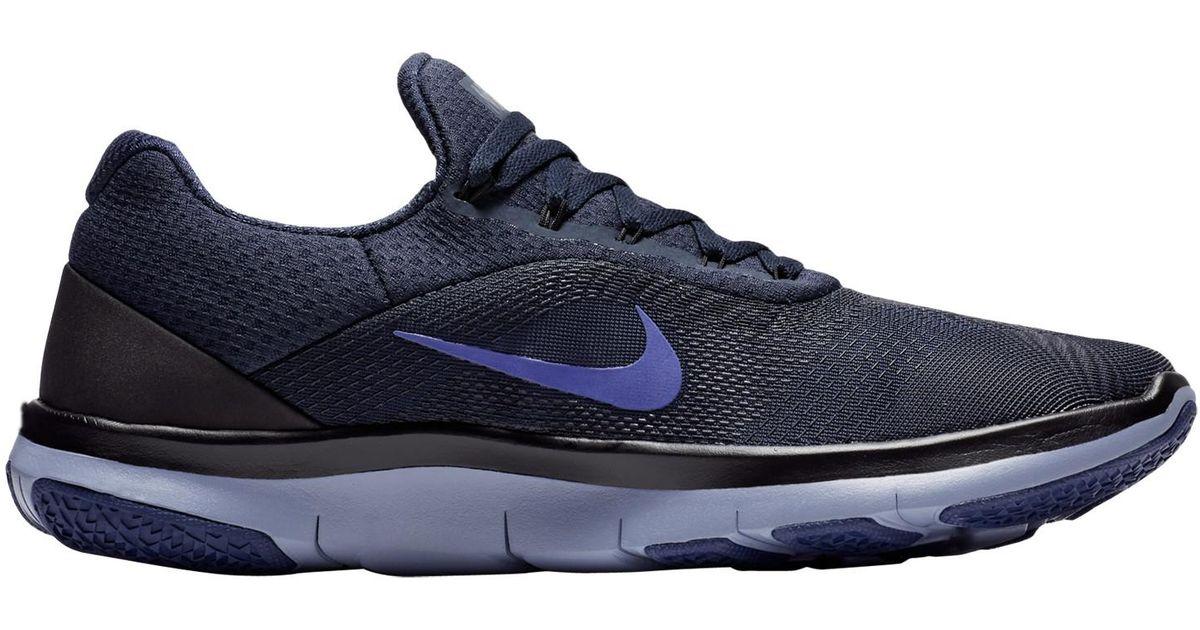87077e0f14dd Nike Free Trainer V7 Men s Training Shoes in Blue for Men - Lyst