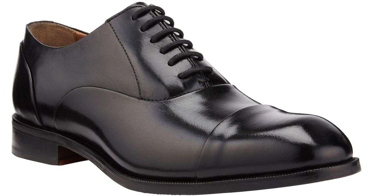 e3376cb898abd John Lewis Goodwin Oxford Leather Lace-up Shoes in Black for Men - Lyst