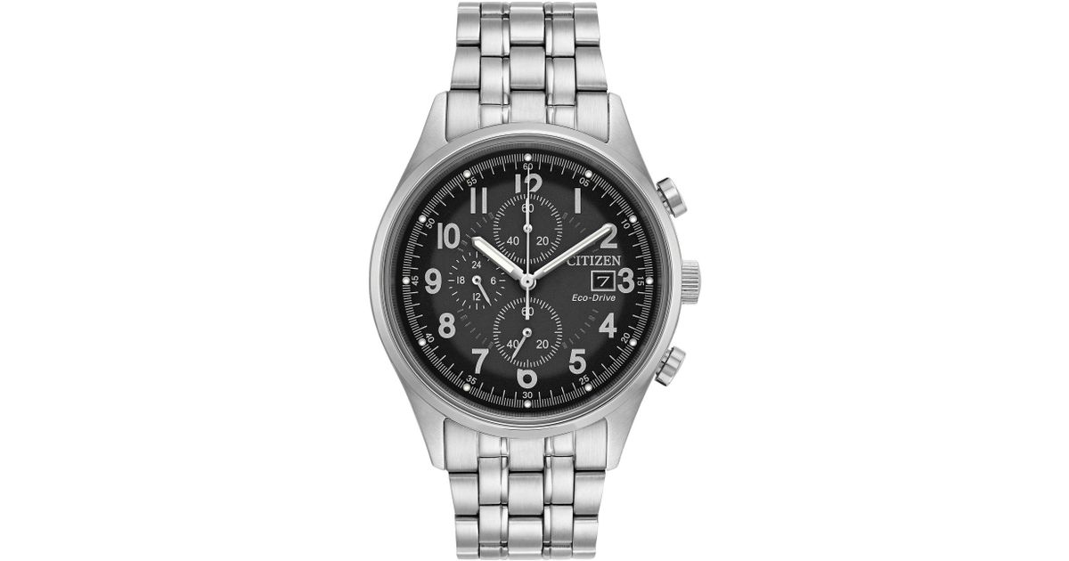 b89318544874 Citizen Ca0620-59h Men s Chronograph Date Bracelet Strap Watch for Men -  Lyst