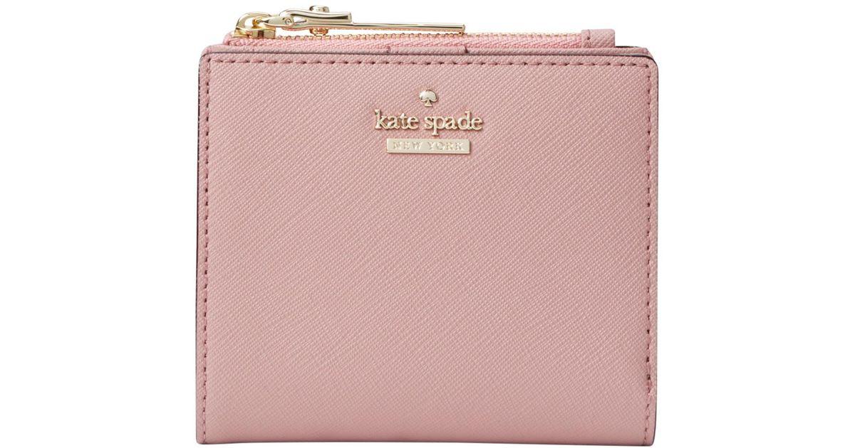 c160d47459c38 Kate Spade Cameron Street Adalyn Leather Purse in Pink - Lyst