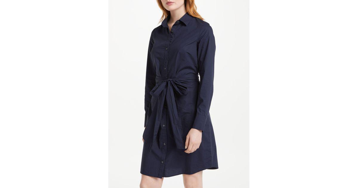 99d848b797 Boden Modern Shirt Dress in Blue - Lyst