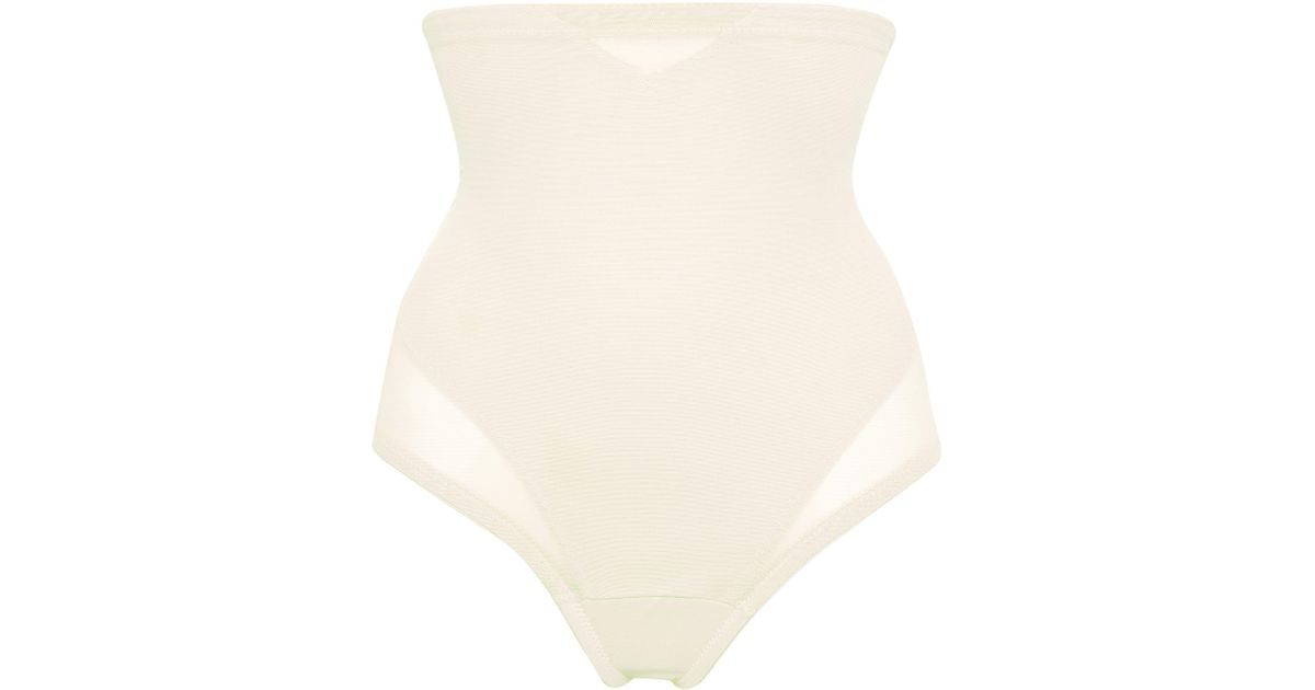 631aa2c414 Miraclesuit Firm Control High Waist Shaper Thong in Natural - Lyst