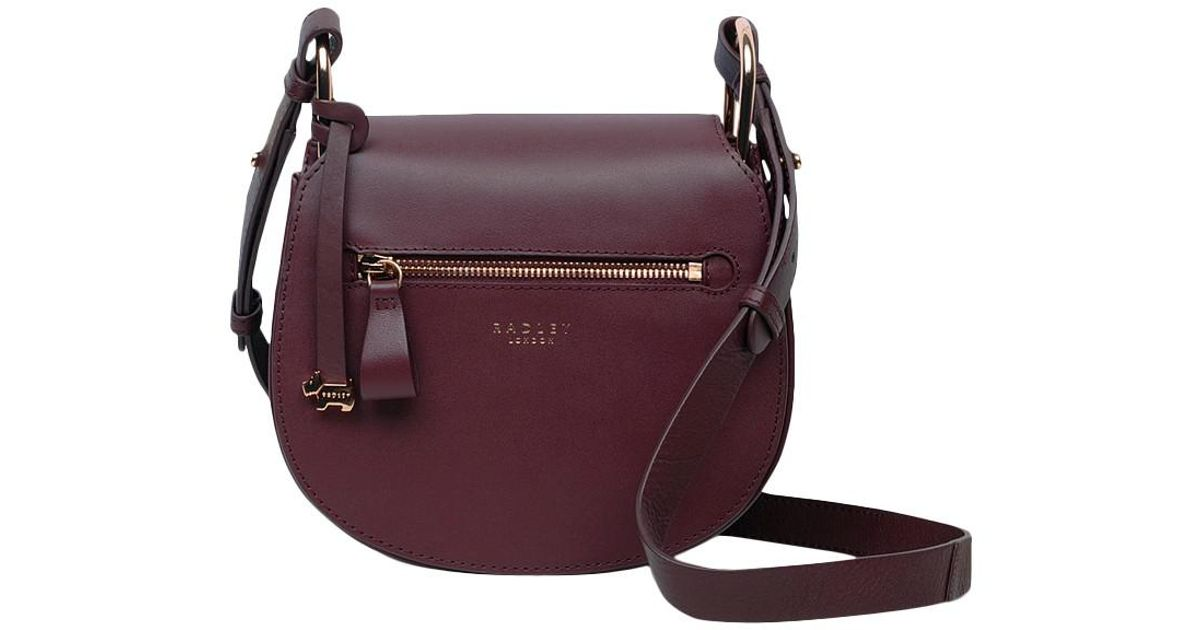 63919bb3edf6 Women s Red Camley Street Leather Flapover Cross Body Bag. See more Radley  Shoulder bags.