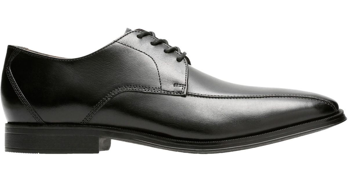 5113ad9755b Clarks Mens Men s Leather Gilman Lace Up Mode Wide Derby Shoes w8Pkn0OX