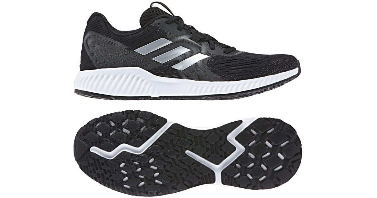 timeless design ffa7b 6b776 adidas Aerobounce 2 Men s Running Shoes in Black for Men - Lyst