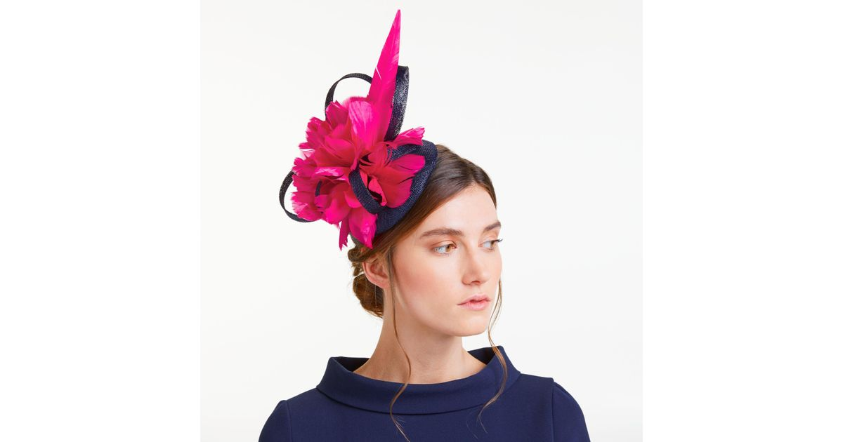 6d1ba075c891f John Lewis Tasha Pillbox Large Feather Fascinator - Lyst