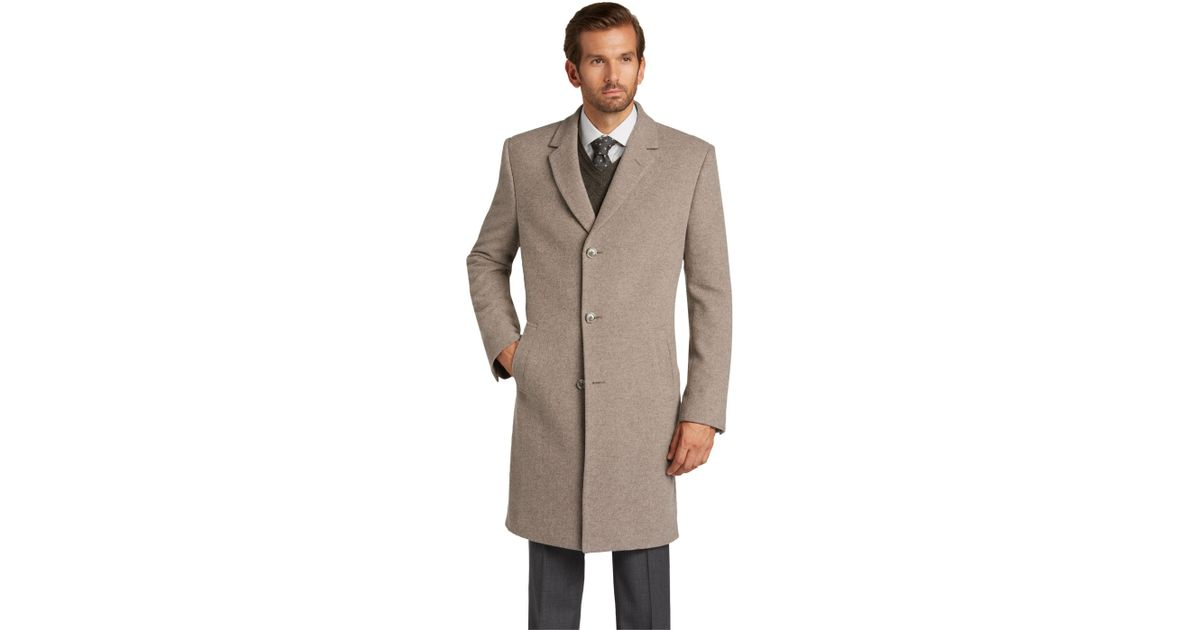 105e0430c20 Jos. A. Bank Executive Collection Tailored Fit Topcoat for Men - Lyst