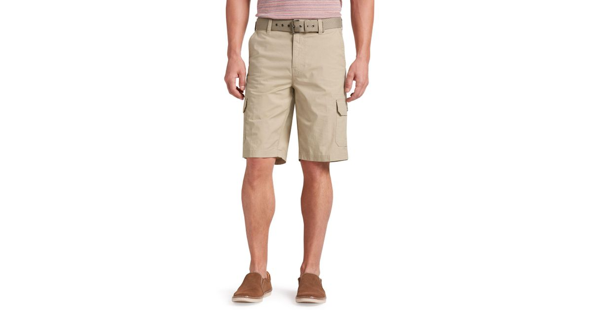 0ef747e78c A. Bank Joseph Abboud Tailored Fit Rip-stop Cargo Shorts Clearance for Men  - Lyst