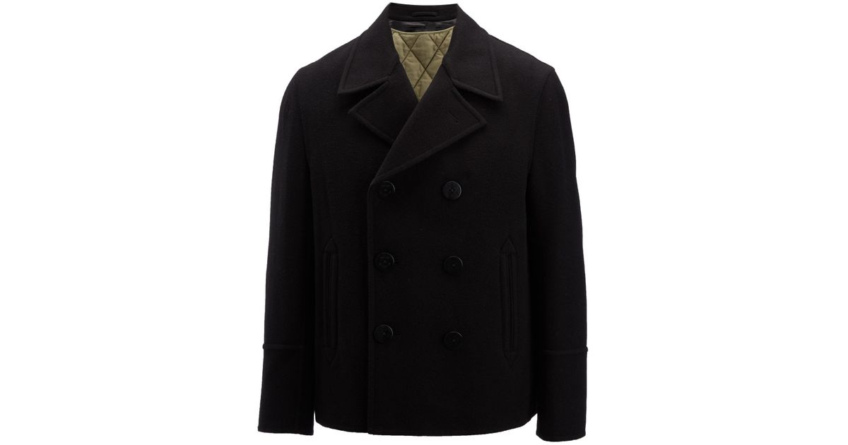 Black felt Joseph Brushed Coat Albert Checked xITfwwOEq