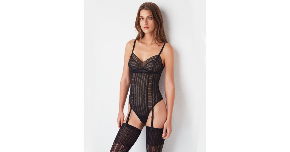 0ef4bbabc Else Lolita Bodysuit in Black - Save 33% - Lyst