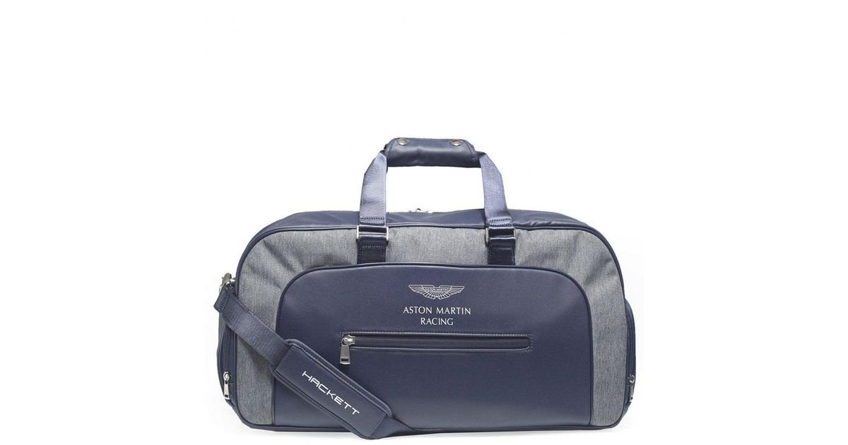 58cd5fa3b7 Lyst - Hackett Two Colour Duffle Bag in Blue for Men