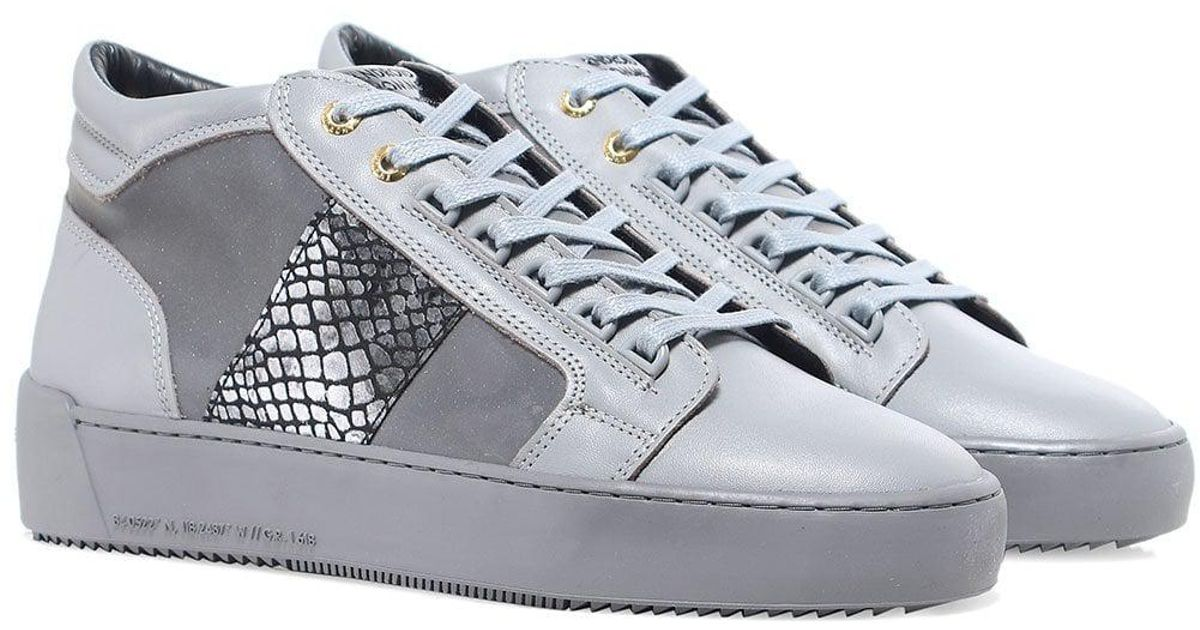 164b33e54b90 Lyst - Android Homme Propulsion Mid Top Mirror Python Trainers in Gray for  Men