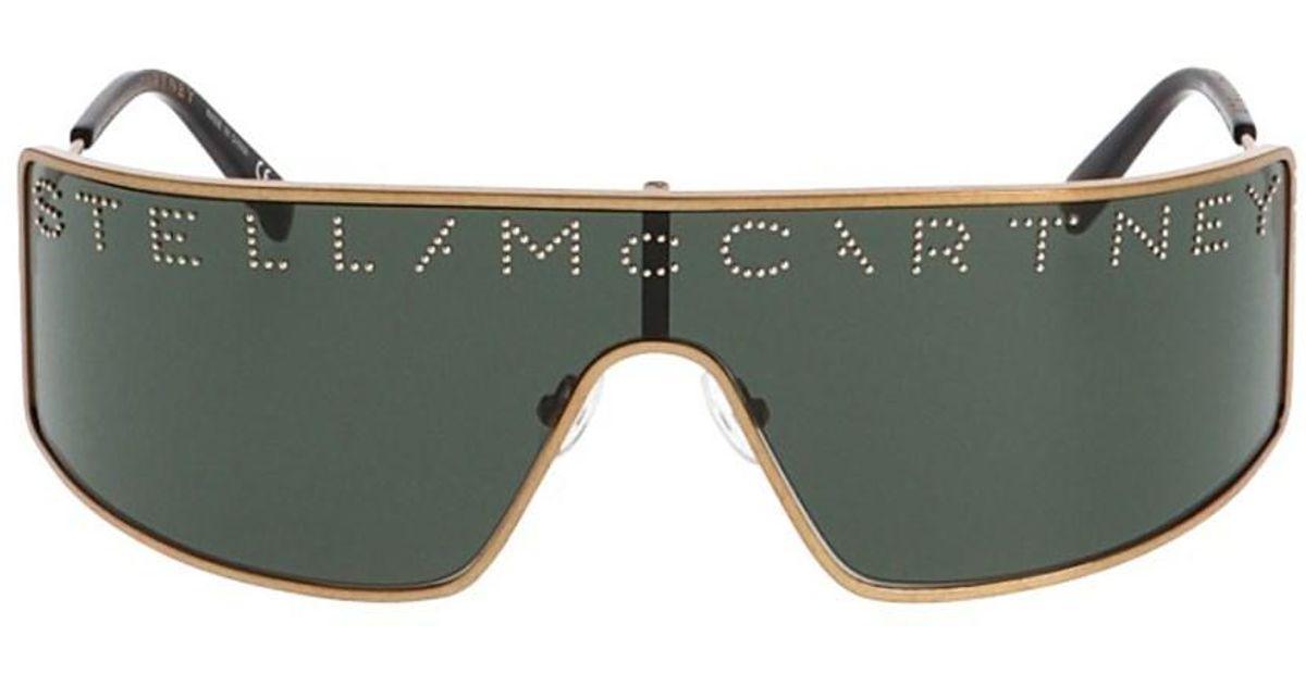 47def303789 Lyst - Stella McCartney  serigraphy  Sunglasses in Metallic