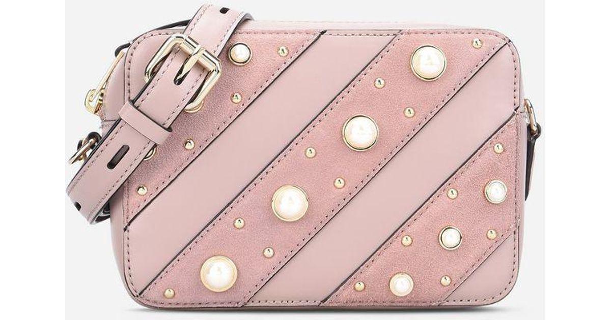 8a8feef85cf Lyst - Karl Lagerfeld K ikonik Pearls Camera Bag