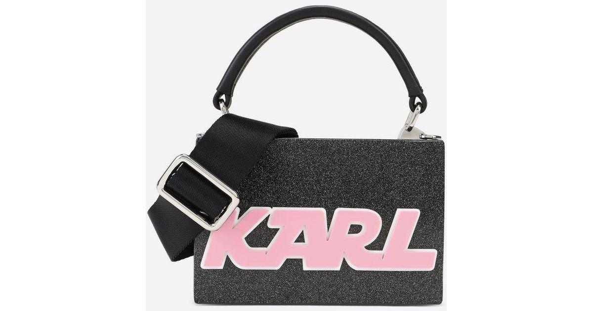 Karl Lagerfeld Handbags, K/Sporty Minaudiere Top Handle Bag