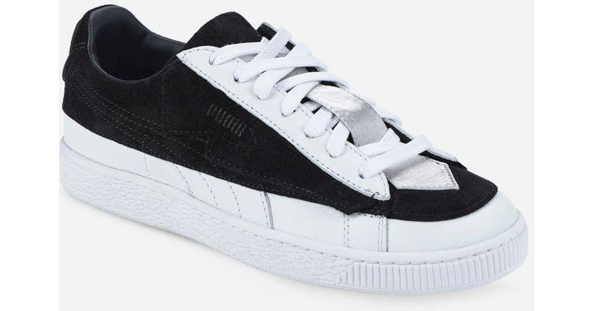 lowest price 9a487 cee7f Lyst - Karl Lagerfeld Puma X Karl Suede Classic in Black