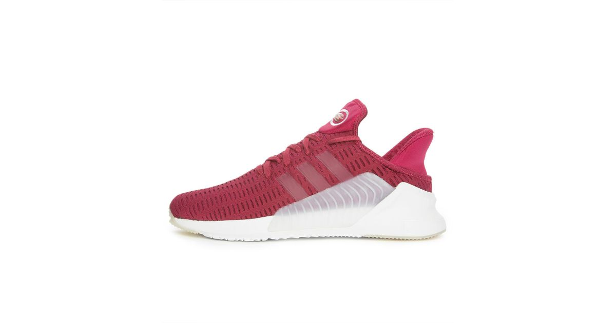 check out 9122f 3f9bf Lyst - adidas The Climacool 0217 In Mystery Ruby And Footwear White in Red  for Men