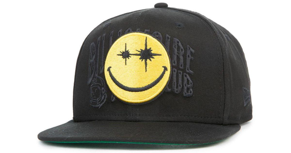 fa9530711aa99 ... italy lyst billionaire boys club ice cream the smiles snapback hat in  black for men cf31f