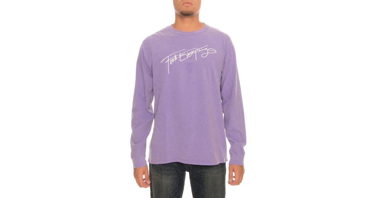 Kill Brand - The Fe Script Ls Tee In Purple for Men - Lyst