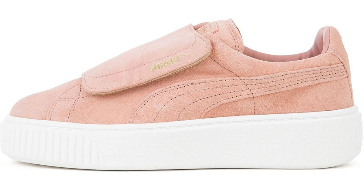 Brown The Velcro Strap In Pink Big Suede Lyst Cameo Puma Platform 8nwPk0O