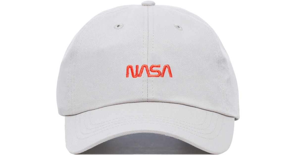 5b03a14e813 Lyst - Dumbgood The X Nasa Dad Cap in White for Men