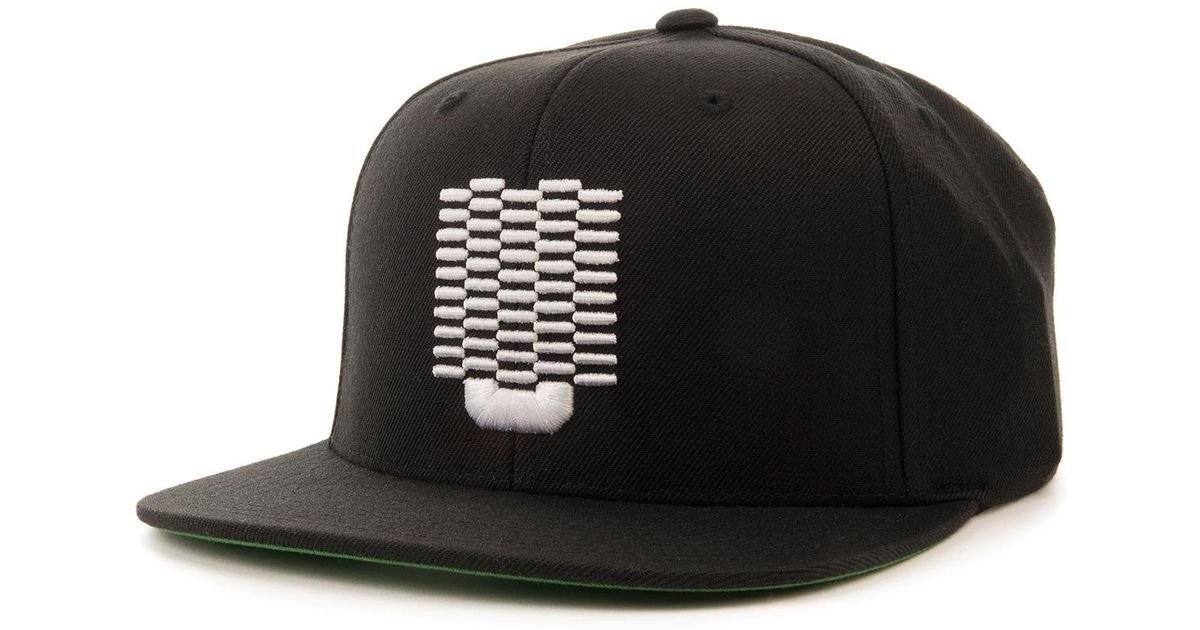 Lyst - Undefeated The Checker U Snapback in Black for Men f9b3c4dc803