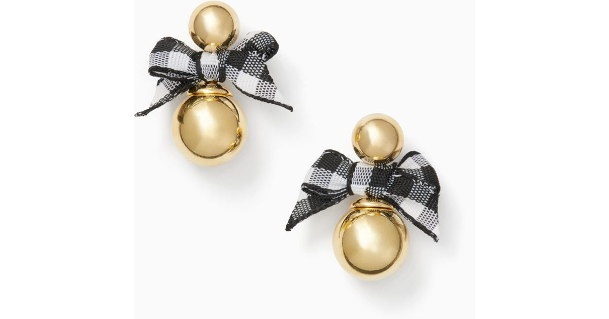 Lyst - Kate Spade Pretty Pearly Studs