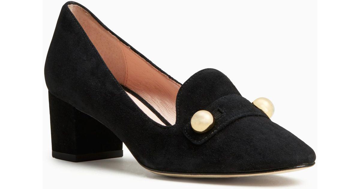bb4205a9df Kate Spade Middleton Heels in Black - Lyst