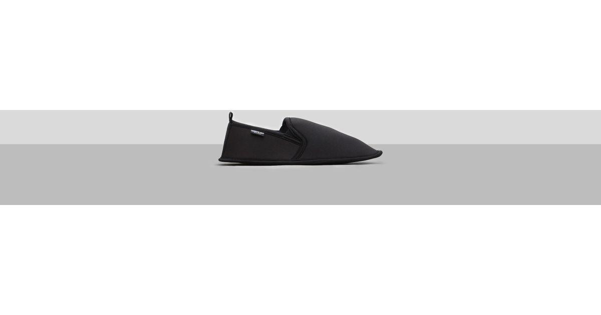 Lyst Kenneth Cole Reaction Foldable Travel Slippers Bag In Black For Men