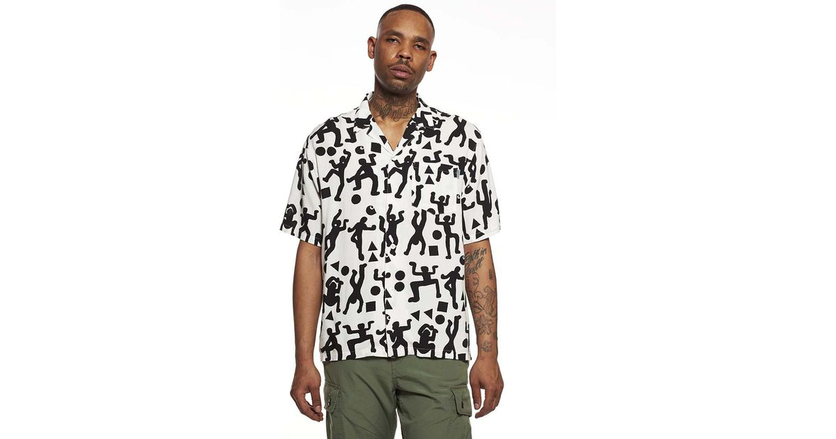 4b9a8ac765c70 Carhartt WIP Ss World Party Shirt in Black for Men - Lyst