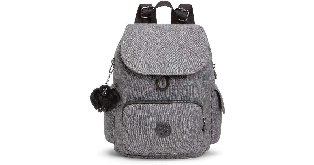 b092cde50 Kipling City Pack S Essential in Gray - Lyst