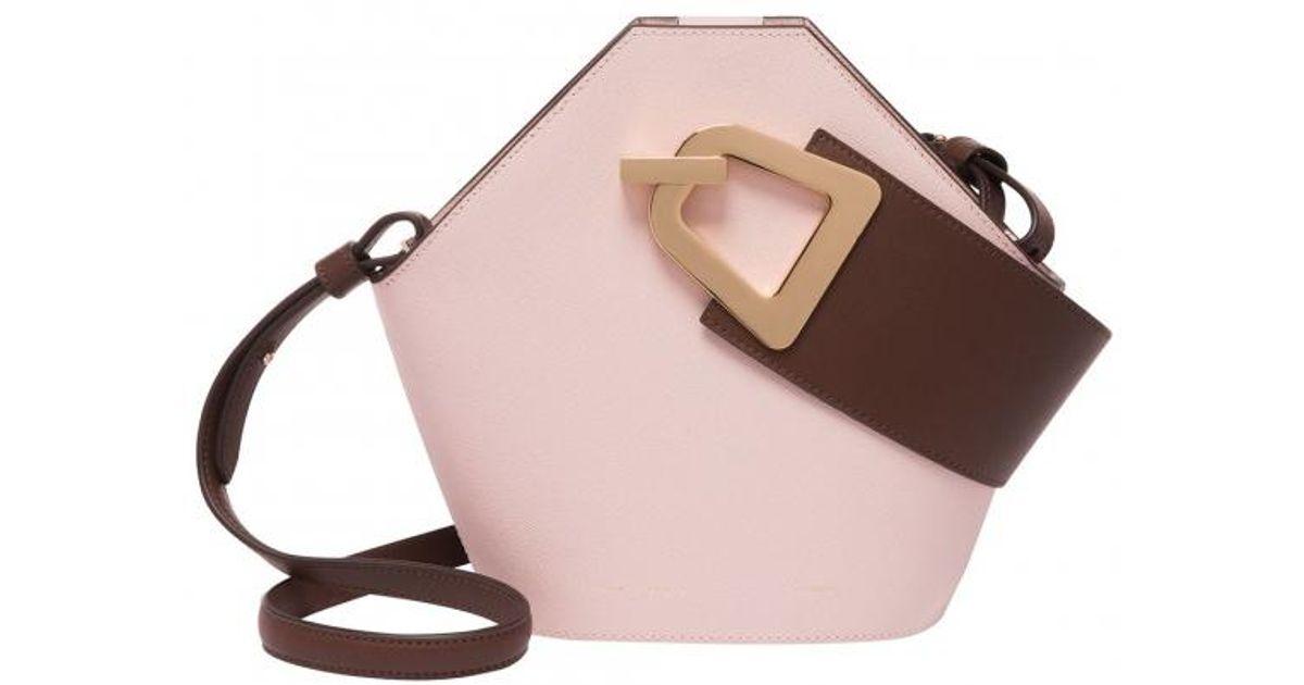9521f4e70972 Danse Lente Mini Johnny Pink Bag in Pink - Lyst