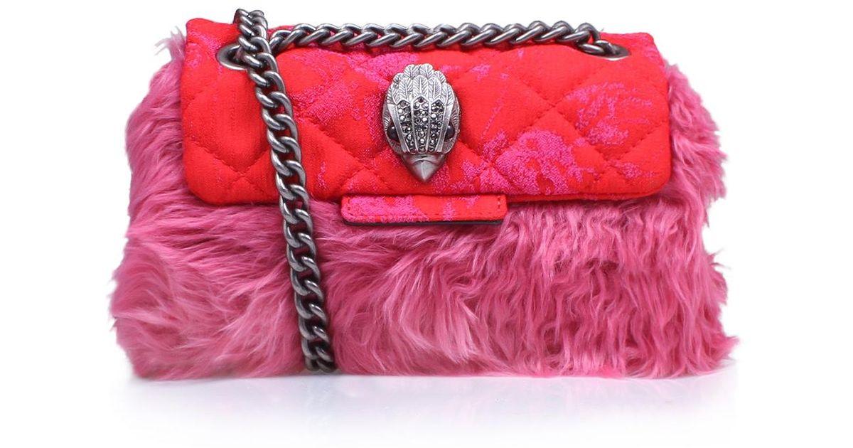 daff8fa7979a Kurt Geiger Mini Kensington Bag in Pink - Lyst