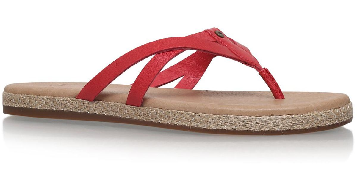 6a8a330f47c Ugg - Annice In Red - Lyst