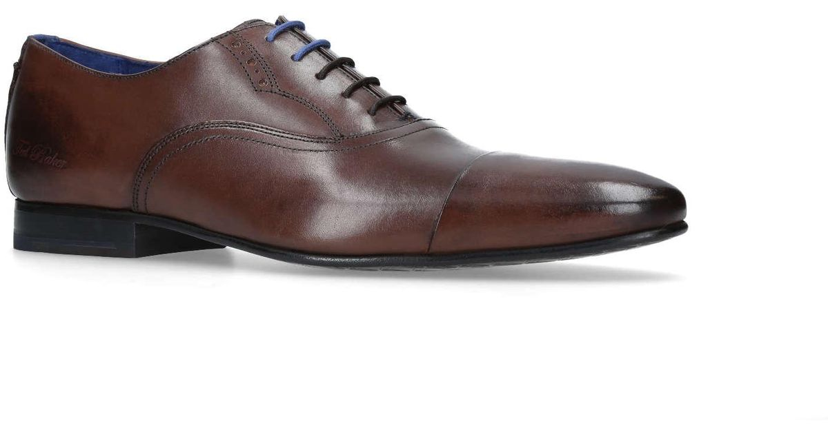 eadd2445c74708 Ted Baker Murain Tc Oxford in Brown for Men - Lyst
