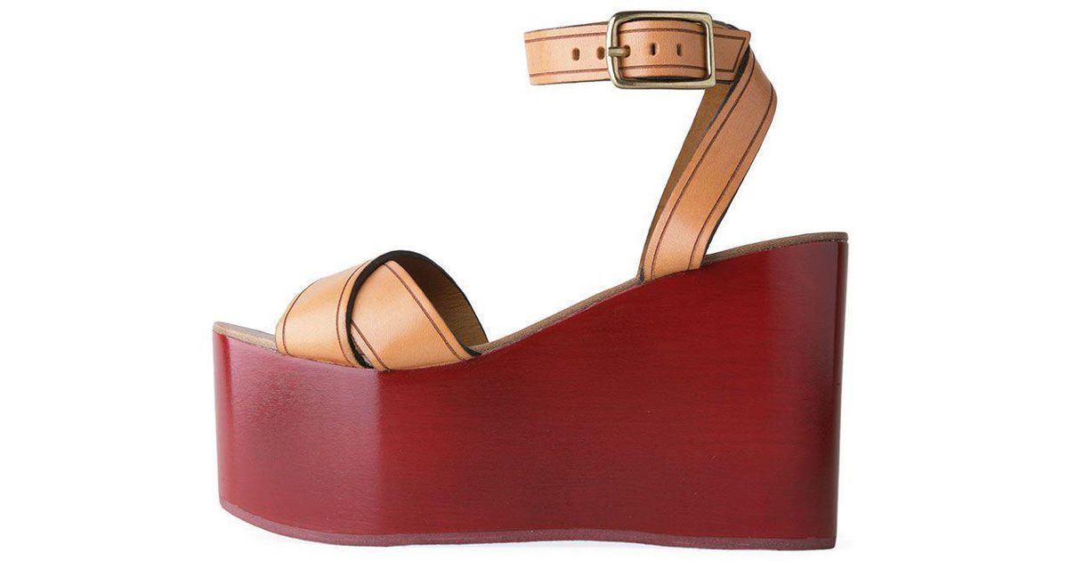 700e6922a4f6 Lyst - Isabel Marant Zora Platform Sandal