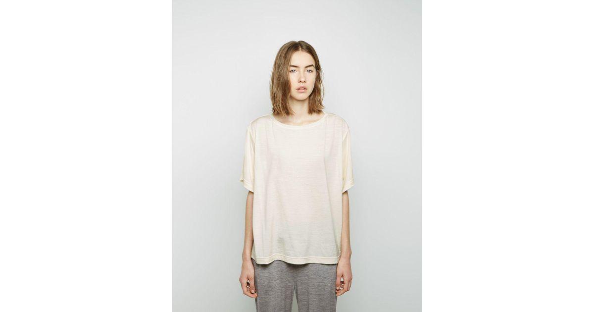 6fe89539646dea Lyst - Samuji Wola T-shirt in White